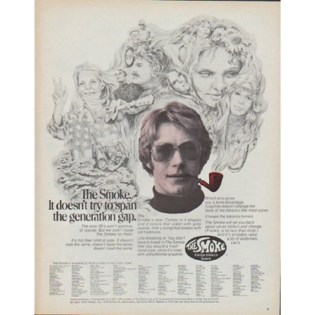 "1971 The Smoke Ad ""the generation gap"""