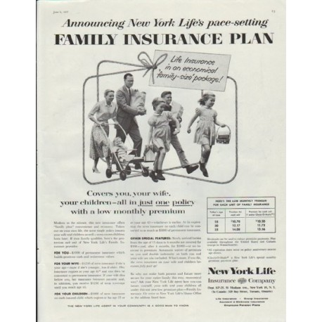 Shop For Cheap 1971 New York Life Insurance Vintage Look Replica Metal Sign Historical Memorabilia a Christmas Prayer