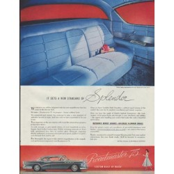 "1957 Buick Ad ""Buick Roadmaster 75"""