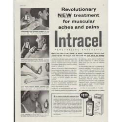 "1957 Intracel Ad ""Revolutionary New Treatment"""