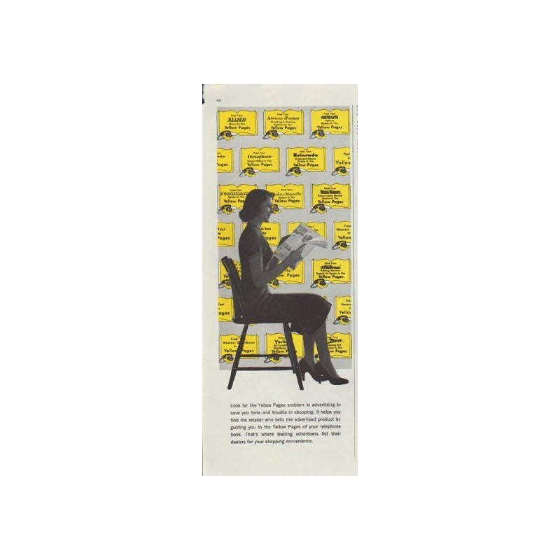1957 Yellow Pages Vintage Ad