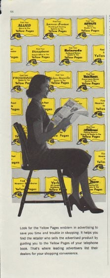 1957 Yellow Pages Ad