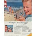 """1957 Kodak Ad """"A Brownie Movie Camera"""""""