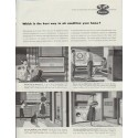 "1957 Carrier Air Conditioner Ad ""Which is the best way"""