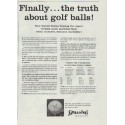 """1957 Spalding Ad """"the truth about golf balls"""""""