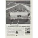 """1957 Asphalt Institute Ad """"Starting off"""""""