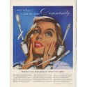 """1952 Community Silverplate Ad """"she's in love"""""""
