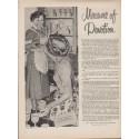 "1952 New York Life Insurance Company Ad ""Measure of Devotion"""