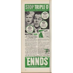 "1952 Ennds Ad ""Stop Triple ""O"""""