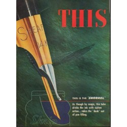 "1952 Sheaffer's Ad ""This Is New!"""