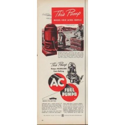 "1952 AC Fuel Pumps Ad ""This Pump"""