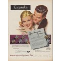 "1952 Keepsake Diamond Rings Ad ""Your Keepsake Forever"""