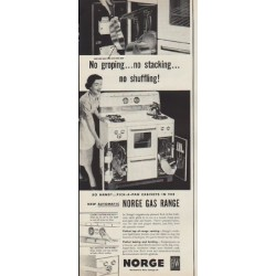 "1952 Norge Ad ""No groping"""