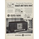 "1952 General Electric Ad ""World's Most Useful Radio!"""