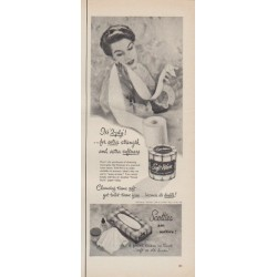 "1952 Scotties Ad ""for extra strength"""