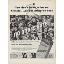 """1951 Quinsana Ad """"You don't have to be an Athlete"""""""