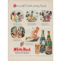 "1951 White Rock Ad ""among friends"""