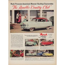 "1951 Nash Ad ""Country Club"""