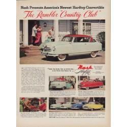 "1951 Nash Ad ""Country Club"""