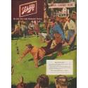 "1951 Schlitz Beer Ad ""Annual Company Picnic"""