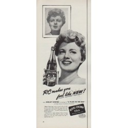 "1951 Royal Crown Cola Ad ""makes you feel"""