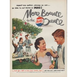 "1951 Pepsi-Cola Ad ""More Bounce"""
