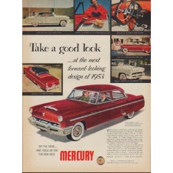 "1953 Mercury Ad ""Monterey -- Model Year 1953"""