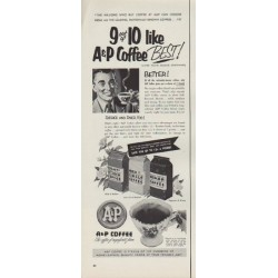 "1953 A&P Ad ""A&P Coffee"""