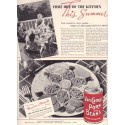 "1937 Van Camp's Pork and Beans Ad ""Kitchen"""