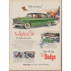 "1953 Dodge Ad ""Coronet -- Model Year 1953"""