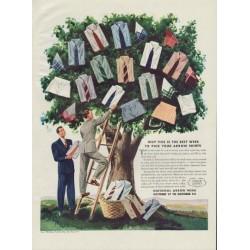 """1938 Arrow Shirt Ad """"National Arrow Week"""""""