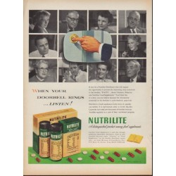 "1953 Nutrilite Ad ""When Your Doorbell Rings"""