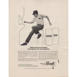 """1963 Muzak Ad """"Employee Attitudes"""""""