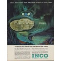 "1963 Inco International Nickel Ad ""Exploring New Ways"""