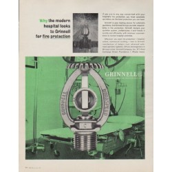 """1963 Grinnell Ad """"Automatic Sprinkler Fire Protection"""""""