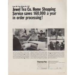 "1963 3M Company Ad ""Jewel Tea Co."""