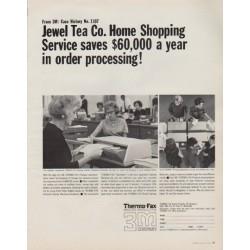 "1963 3M Company Ad ""Jewel Tea Co."""