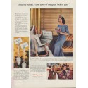 "1938 International Silver Ad ""Rosalind Russell"""