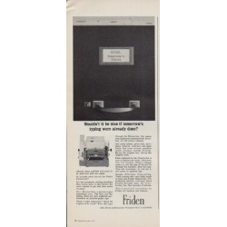 """1963 Friden Ad """"Wouldn't it be nice"""""""