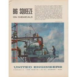 "1963 United Engineers Ad ""Big Squeeze"""