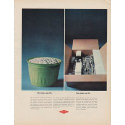 "1963 DOW Chemical Company Ad ""We make"""