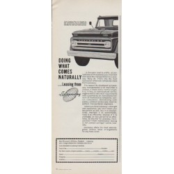 "1963 Leaseway Ad ""Doing What Comes Naturally"""
