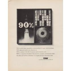 "1963 TRW Ad ""major responsibility"""