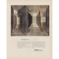 "1963 Celanese Ad ""Perspective"""