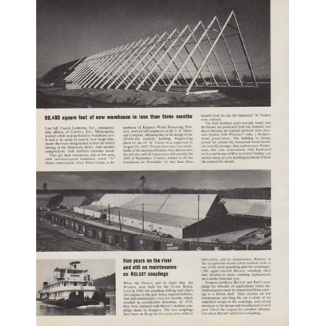 """1963 Koppers Ad """"less than three months"""""""