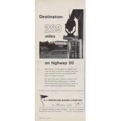 "1963 A. L. Mechling Barge Lines Ad ""Destination"""