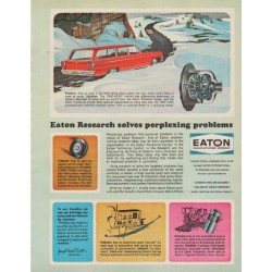 "1963 Eaton Ad ""Eaton Research"""