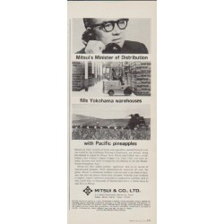 "1963 Mitsui & Co. Ad ""Minister of Distribution"""