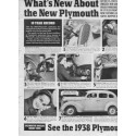 "1938 Plymouth Ad ""You'll Be Amazed!"""