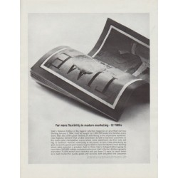 "1963 TIME Magazine Ad ""For more flexibility"""